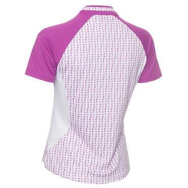 Green Lamb Emily Raglan Sleeve Print Polo Shirt Hexagon