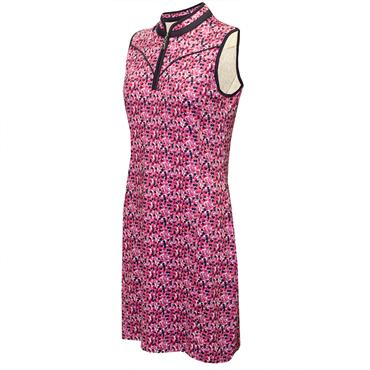 Green Lamb Ladies Emer Sleeveless Print Dress Petal