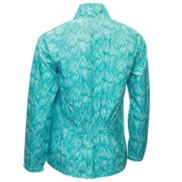 Green Lamb Ladies Kayley Raglan Sleeve Windbreaker Palm