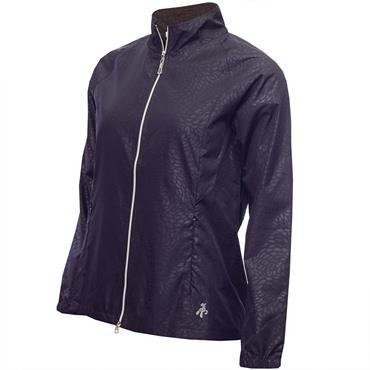 Green Lamb Ladies Kelly Raglan Sleeve Windbreaker Navy
