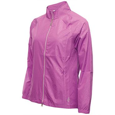 Green Lamb Ladies Kelly Raglan Sleeve Windbreaker Violet