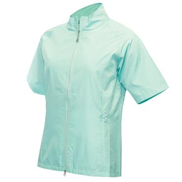 Green Lamb Ladies Kelsy Raglan ½ Sleeve Windbreaker Opal