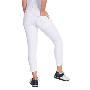 Green Lamb Ladies Mags 7/8th Trousers White