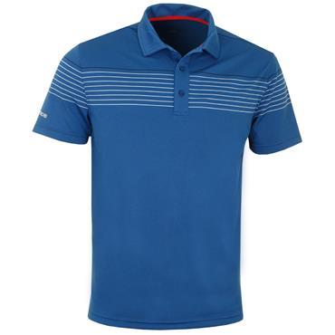 Sunice Gents Rennes Short Sleeve Polo Shirt Marine - Blue - White
