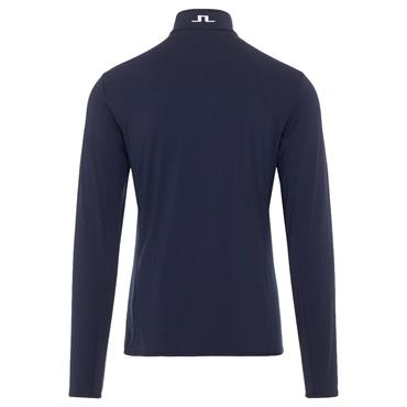 J.Lindeberg Gents Kimball Quarter Zip Midlayer Sweater Navy