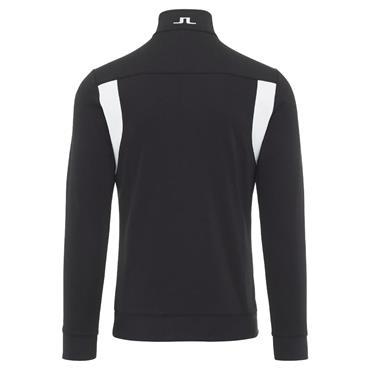 J.Lindeberg Gents Fox 1/2 Zip Sweater Black
