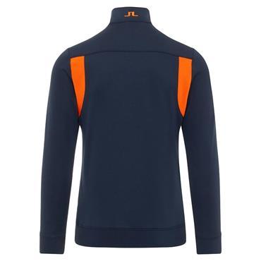 J.Lindeberg Gents Fox 1/2 Zip Sweater Navy
