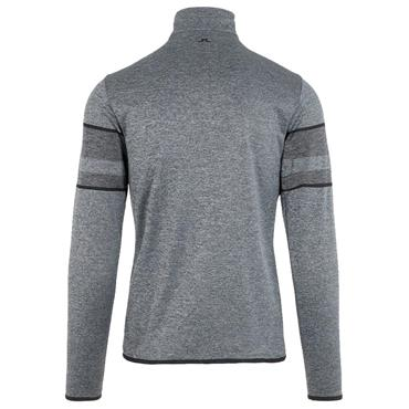 J.Lindeberg Gents Mason Midlayer 1/2 Zip Sweater Grey - Melange
