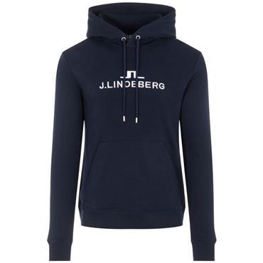 J.Lindeberg Gents Alpha Hooded Top Navy
