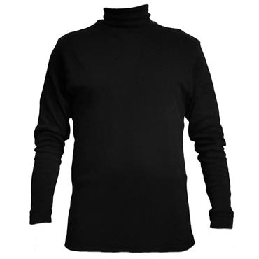 Proquip Gents Solano Cotton Roll Neck Black