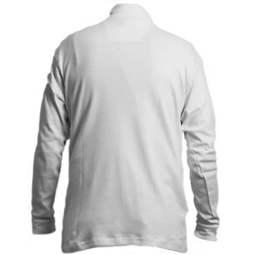 Proquip Gents Solano Cotton Roll Neck White