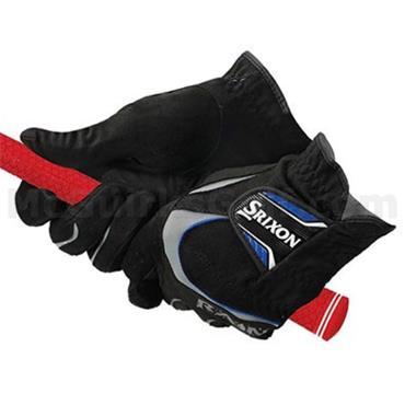 Srixon Gents Rain Golf Gloves Pair Black
