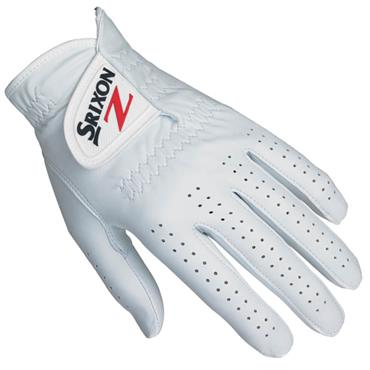 Srixon Cabretta Leather Golf Glove Gents RH White
