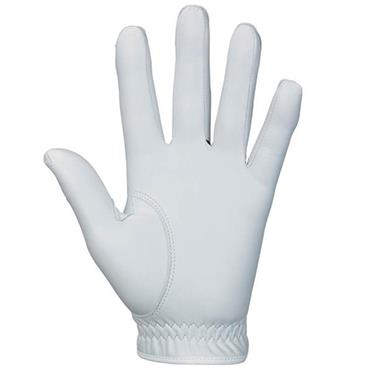 Srixon Cabretta Leather Golf Glove White Gents RH