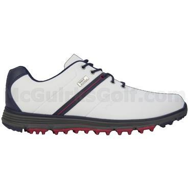 Stuburt Gents Vapour Event Spikeless Golf Shoes White - Midnight
