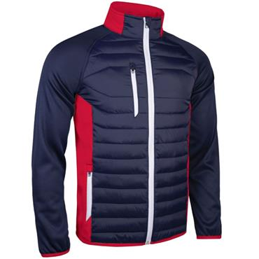 Sunderland Gents Zermatt Padded Jacket Navy - Red - White