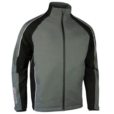 Sunderland Gents Vancouver Waterproof Pro Jacket Gunmetal - Black - White