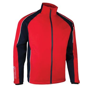 Sunderland Gents Vancouver Waterproof Pro Jacket Red - Navy - White