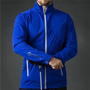Sunderland Gents Whisperdry Luxelight Waterproof Jacket Electric Blue - Silver