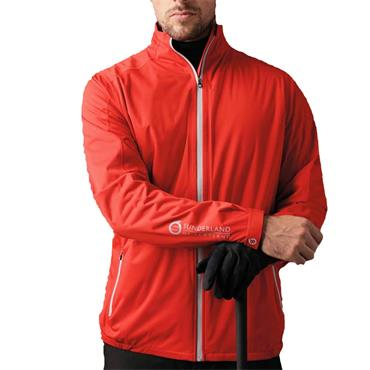 Sunderland Gents Whisperdry Luxelight Waterproof Jacket Red - Silver