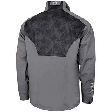Sunderland Gents Valberg Waterproof Stretch Mesh Golf Jacket Gunmetal - Black Camo - White