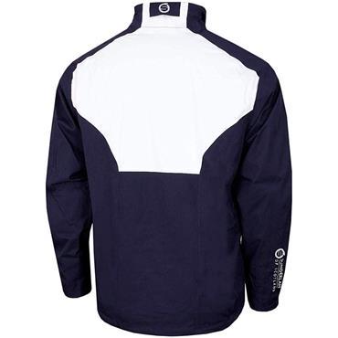 Sunderland Gents Valberg Waterproof Stretch Mesh Golf Jacket Navy - White - Red