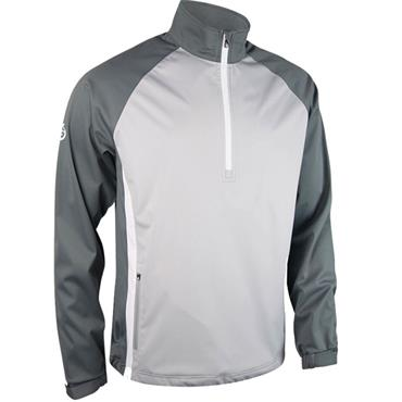 Sunderland Gents Nevis Windshirt Silver - Gunmetal - White