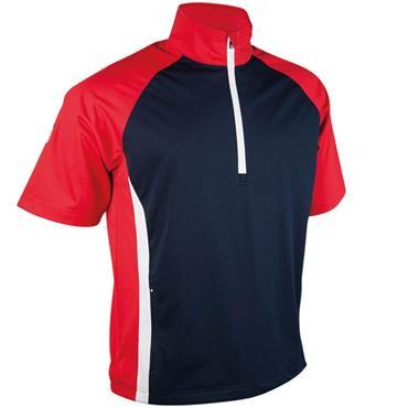 Sunderland Gents Himalayas 1/2 Sleeve Windshirt Navy - Red