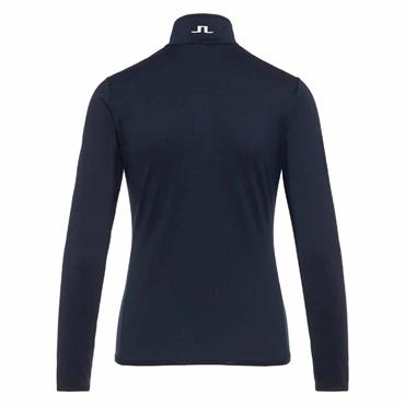 J.Lindeberg Ladies Kimball  ¼ Zip Top Navy