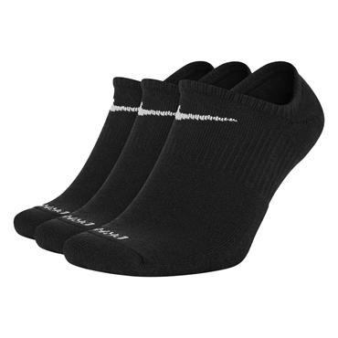 Nike Gents Everyday Plus Cushioned Dri Fit Socks 3-Pack Black