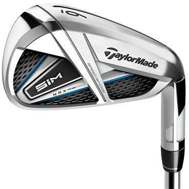 TaylorMade SIM Max 7 Graphite Irons 5-SW Gents LH