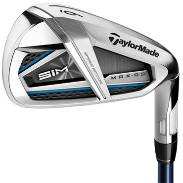 TaylorMade SIM Max OS 7 Graphite Irons 5-SW Gents LH