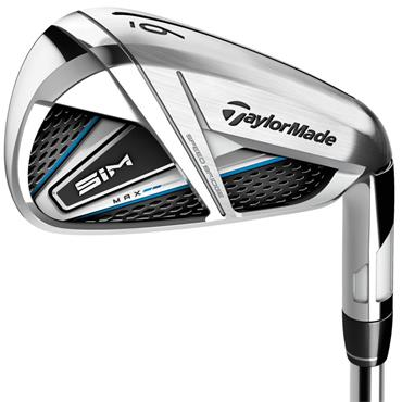 TaylorMade SIM Max OS 7 Graphite Irons 5-PW & GW Gents RH