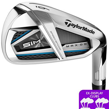 TaylorMade Ex Display SIM Max OS 7 Steel Irons 5-PW & GW Gents RH