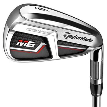 "TaylorMade M6 7 Steel Irons 4-PW Plus 1"" Gents RH"