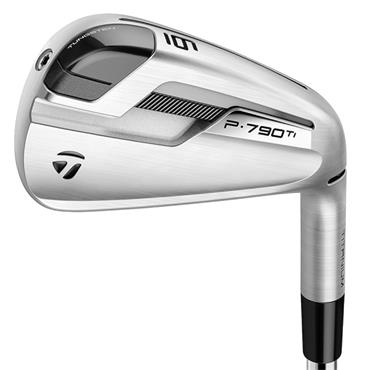 TaylorMade P790 Ti 6 Steel Irons 5-PW Gents RH