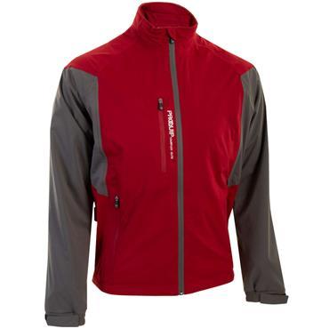 Proquip Gents Tour Flex Elite Waterproof Jacket Red - Grey
