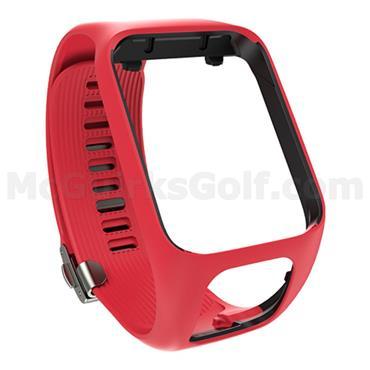 TomTom Premium Watch Strap Red