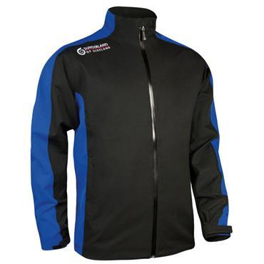 Sunderland Gents Vancouver Waterproof Jacket Black - Electric Blue - Red