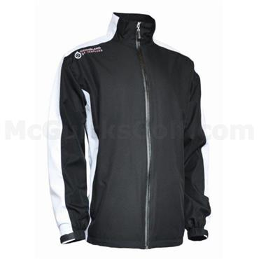 Sunderland Gents Vancouver Waterproof Jacket Black - White - Garnet