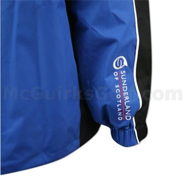 Sunderland Gents Vancouver Waterproof Jacket Electric Blue - Black  - White
