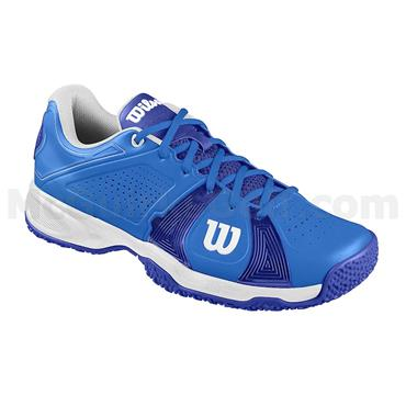 Wilson Gents Rush Sport Omni Tennis Shoes Neptune Blue