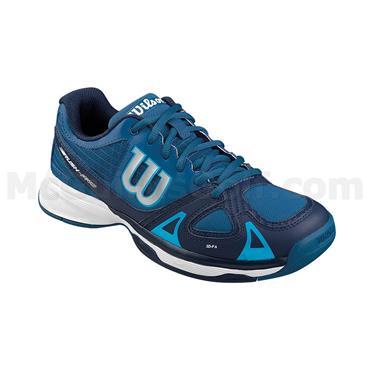 Wilson Junior Rush Pro Tennis Shoes Navy