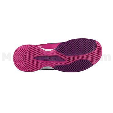 Wilson Junior Rush Pro Tennis Shoes Plum