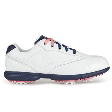 Callaway Ladies Halo Pro Golf Shoes White - Peacoat