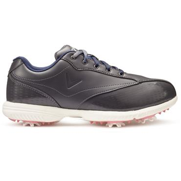 Callaway Ladies Halo Pro Golf Shoes Charcoal - White