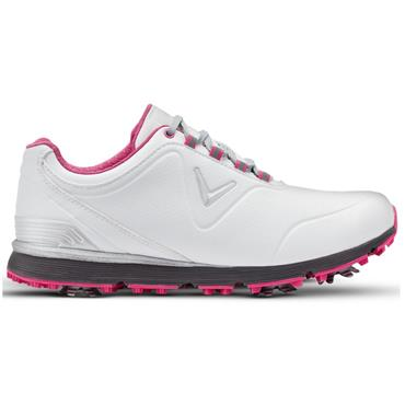 Callaway Ladies Lady Mulligan Golf Shoes White - Pink