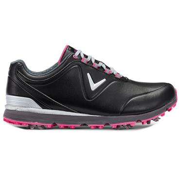 Callaway Ladies Lady Mulligan Golf Shoes Black - Pink