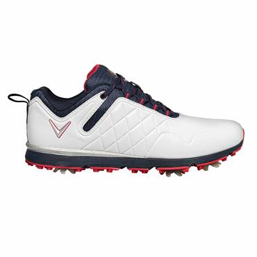 Callaway Lady Mulligan Shoes White - Navy