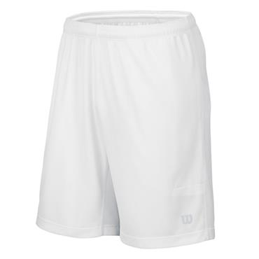 Wilson Gents Nvision Elite 9 Knit Tennis Shorts White